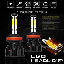 KIT LAMPADINE H11 LED luce di nebbia CANBUS luminoso 80W 6000K Bianco AUDI A3 8P 8PA 08-12