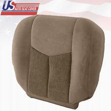 2003 2004 Chevy Silverado 1500 1500HD - Passenger Bottom Cloth Seat Cover Tan