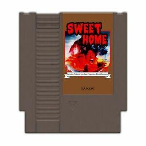 Sweet Home 72 pin 8 bit Game Cartridge US Version NES