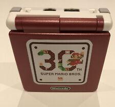Nintendo GAME BOY ADVANCE SP IPS V2 Backlight Model 30th Super Mario Bros