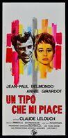 L142 Plakat Ein Art Die Ich Like Jean Paul Belmondo Girardot Lelouch Frankreich