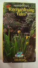 New listing Aquascape Designs Natural Water Gardening Vhs Pond Outdoor
