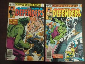 DEFENDERS 84 85 FIRST SUB MARINER BLACK PANTHER BATTLE 1980