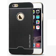 Thin Fit Aluminum Metal Back Case Bumper Frame+ Glass Film for Apple iPhone 6 6S