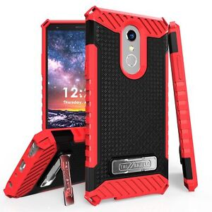 For LG Stylo 4 /4+ Q710 Tri Shield Rugged Hybrid Armor Kickstand Protector Case