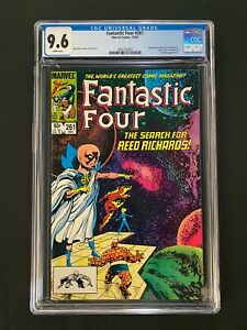 Fantastic Four #261 CGC 9.6 (1983) - The Watcher cover!