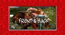 RENAISSANCE KNIGHT MAIDEN HORSE ART VINYL CHECKBOOK COVER