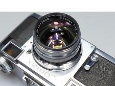 VINTAGE CONTAX RANGEFINDER CAMERA W/ZEISS OPTON T SONNAR 50mm 1:1.5 LENS  L@@K