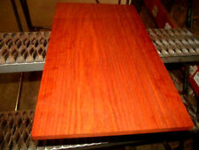 EXOTIC KILN DRIED PADAUK SOLID ONE-PIECE PANEL LUMBER WOOD 24 X 14 X 3/4""