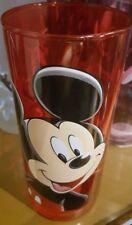VERRE / Glass MICKEY ROUGE / Red Disneyland Paris