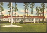 Unused Postcard Veterans Administration DOM Center Thomasville Georgia GA