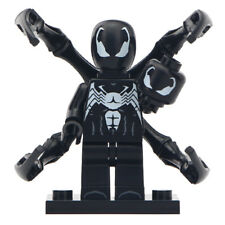 Venom Marvel Comics Realistic Half Transformation Lego Moc Minifigure