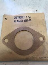 NOS 1937-1955 Chevrolet All Models 6 Cylinder Water Outlet Thermostat Gasket #72
