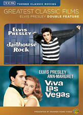 Jailhouse Rock/Viva Las Vegas ELVIS PRESLEY (DVD, 2014, 2-Disc Set) NEW!!
