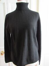 M by Magaschoni Black Cashmere Turtleneck Sweater – Petite XL - NWT - $168