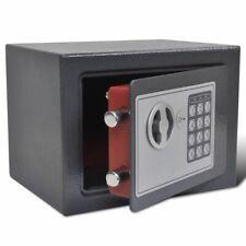 Vidaxl caja fuerte Electrónica digital seguridad hogar Oficina acero 23x17x17 cm