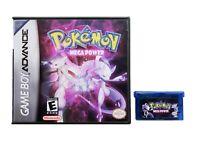 Pokemon Mega Power Game / Case - Game Boy Advance GBA - Fan Made Mod USA Seller