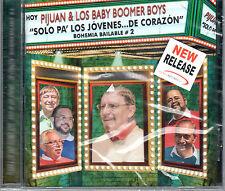 """PIJUAN Y LOS BABY BOOMERS BOYS - """"SOLO PARA JOVENES DE CORAZON- CD"""