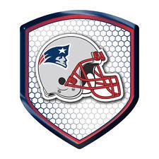 New England Patriots Reflector Auto Decal [NEW] NFL Car Emblem Shield CDG