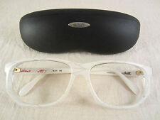 Silhouette Brille Brillengestell Gestell C2849 Vintage Frame WEISS White Etui