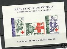 CROCE ROSSA - RED CROSS CENTENARY CONGO KINSHASA blok