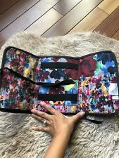 Thirty-One Tri-Fold & Go Organizer Travel Makeup Case EUC