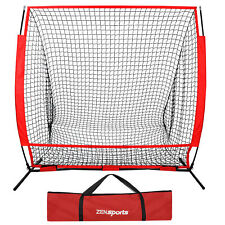 5x5FT Baseball Training Aids Net Softball Hitting Batting Practice W/ Carry Bag