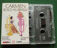 London Brass Carmen Bold As Brass inc Bolero + Pie Jesu + Cassette Tape - TESTED