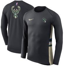 Nike Dri Fit Milwaukee Bucks Limited Cream City Hyper Elite Team shirt men Pe Ls