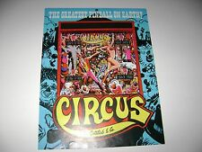1980 Gottlieb Circus (Digital)  Pinball Original sales flyer brochure