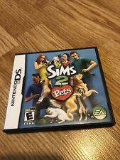 The Sims 2: Pets (Nintendo DS, 2006) Cib Game VC2