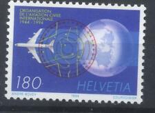 Switzerland 1994 anniversaries 180c civil aviation stamp unmounted mint