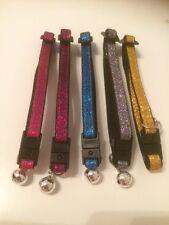 Cat / Kitten Safety Collar - Sparkly Glitter (Pack of 3)