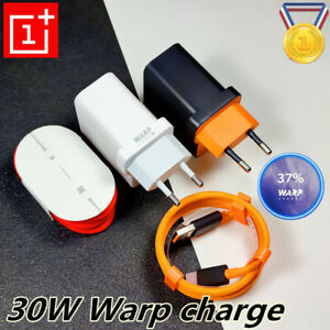 Original Oneplus 7 8 Pro 30W Charger Warp Charging Dash Adapter Cable For 6 T 5