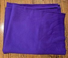 Purple Flannel Fabric-New-1 Yard
