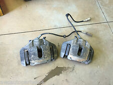 2008 BMW 750Li E66 FRONT BOTH BRAKE CALIPERS PAIR OEM