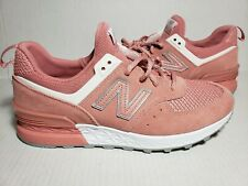 factory price 38027 54a12 New Balance 574 Sport Dusted Peach White MS574STP Men s Size 9.5