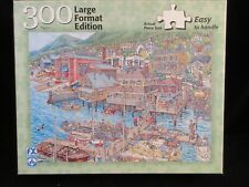 """Coastal Village"" Schmid 300pc puzzle"