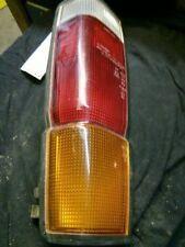 PASSENGER RIGHT TAIL LIGHT 720 BLACK 4X4 FITS 85-86 NISSAN PICKUP 84384