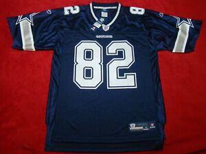 NWT On Field Reebok Mens Medium NFL Dallas Cowboys Blue 82 Jason Witten Jersey