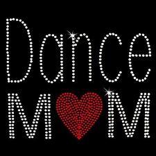 Rhinestone Transfer - Hot Fix Motif -  Dance Mom
