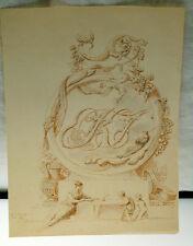 "Joseph Alpenny  (1787 - 1858) Original 1830 Etching 8""x 6 1/8"""