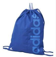 Adidas Lineal Bolsa De Deporte Azul 2 Cordón Mochila Morral Azul Marino Sports Gym Escuela