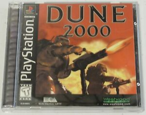 Dune 2000 (Sony PlayStation 1, 1999) - Complete with instruction manual