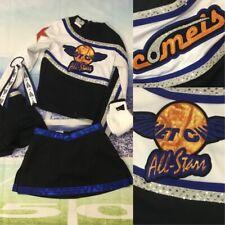 5pc Real Cheerleading Uniform All Stars Youth Sm