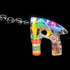 LED Bubble Blower Toy Gun NIB Rincon new in box includes bubbles and batteries
