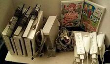 Bundle Lot Of 3 Nintendo Wii Consoles RVL-001 USA GameCube Compatible, See Descr