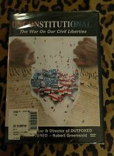 Unconstitutional: The War on Our Civil Liberties (DVD, 2004)