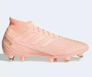 adidas Predator 18.3 Soft Ground Sizes 6.5-12 Pink RRP £75 Brand New D97850 RARE