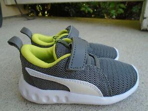 NWOB Puma soft foam ultra lite baby boys' sneakers sz 6c